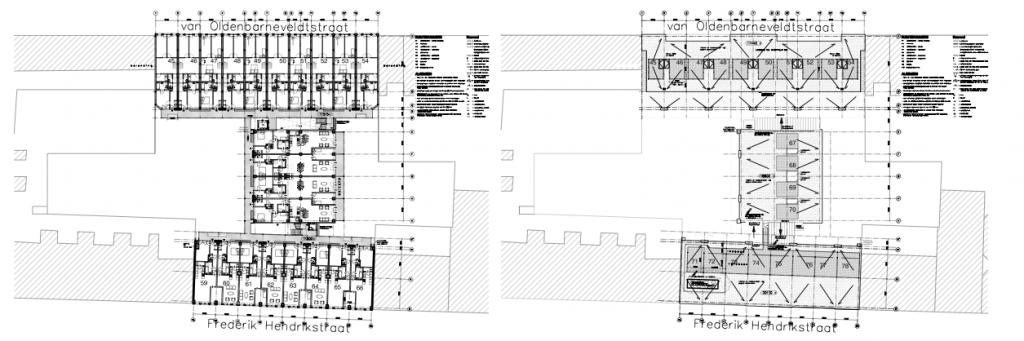 HendriXL verdieping en dak