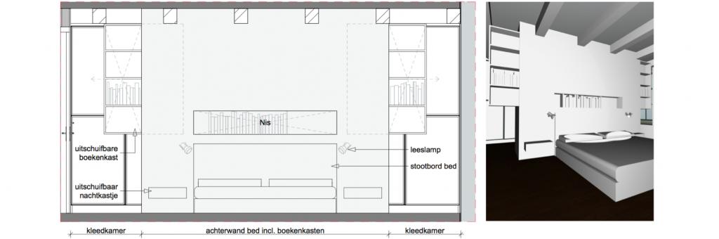 Prinsengracht 851 slaapkamer