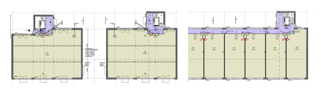 Zetterij kantoor plattegrond