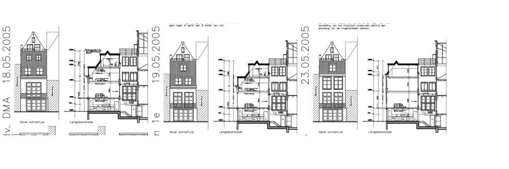 Prinsengracht 73 optoppen achterhuis 2