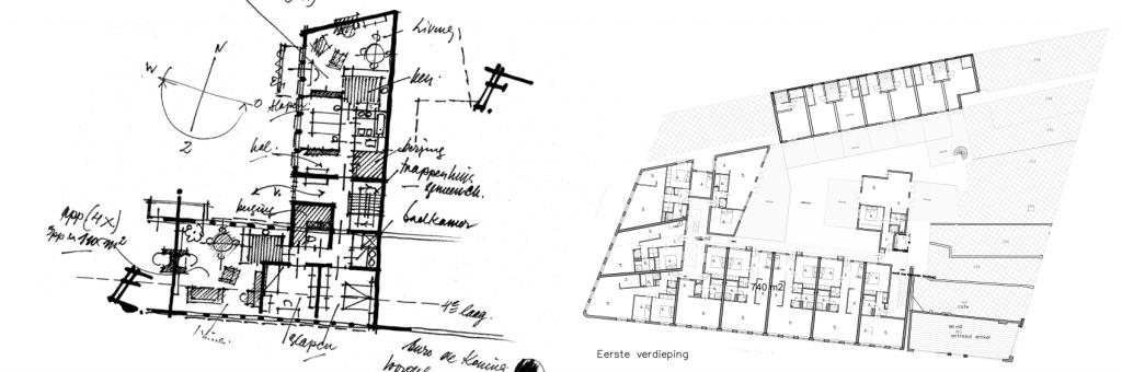 Tabak II ontwerp appartement