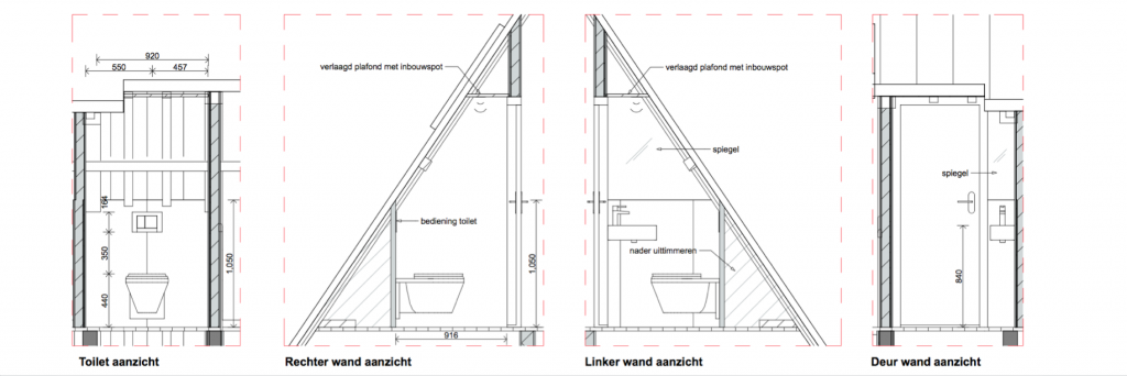 Prinsengracht 851 toilet op vliering